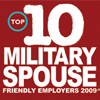 Top 10  Military Spouse friendly Employers 2009 from Milspouse.com